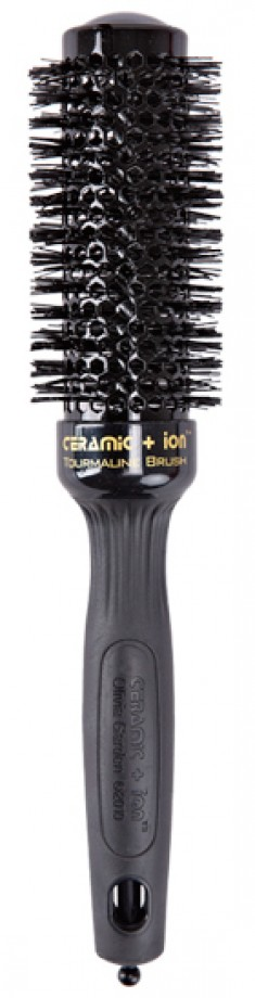OLIVIA GARDEN Термобрашинг Ceramic+Ion Thermal Brush Black CI-35 BR-CI1