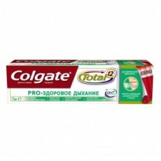Колгейт Зубная паста TOTAL12 Pro-Здоровое дыхание 75мл COLGATE