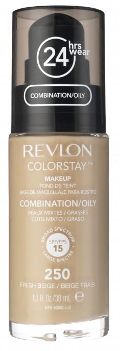 REVLON Крем тональный для комбинированной и жирной кожи 250 / Colorstay Makeup For Combination-Oily Skin Fresh beige 30 мл