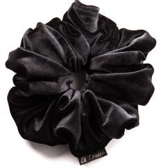 LA FRANCE Резинка бархатная, цвет черный