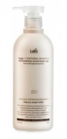 Шампунь с протеинами шелка и кератином LA'DOR Triplex natural shampoo 150мл