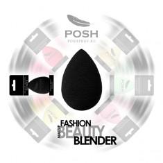 POSH Спонж бьюти блендер форма капля, черный