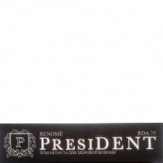 Зубная паста для здоровой белизны Renome President