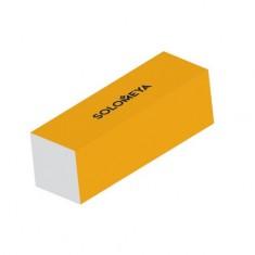 Solomeya, Блок-шлифовщик для ногтей, оранжевый, 120