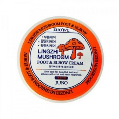 Juno, Крем для ног и локтей с грибами линчжи, 100 мл