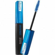 Тушь для ресниц водостойкая Build-Up Mascara Extra Volume 100% IsaDora
