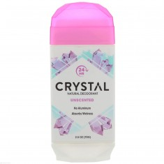 CRYSTAL Дезодорант твёрдый невидимый, без запаха / Crystal Body Deodorant 70 г