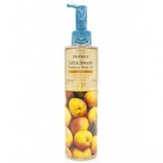 смягчающее увлажняющее масло для тела с абрикосом deoproce soft & smooth body oil apricot