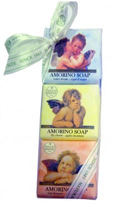 NESTI DANTE Набор мыла для тела Амуры / Amorino 3 х 150 г