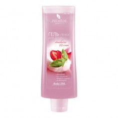 "Гель-пенка для душа Premium, Silhouette ""Strawberry&cream"", 200 мл"