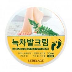 Крем для ног с экстрактом зеленого чая LEBELAGE, 300мл