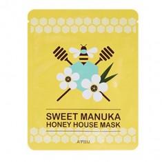 маска для лица тканевая a'pieu sweet manuka honey house mask