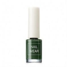 Лак для ногтей The Saem Nail Wear 89.Deep green 7мл