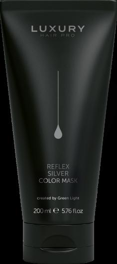 GREEN LIGHT Маска оттеночная для волос, серебрянная / Reflex Color Mask Argento 200 мл