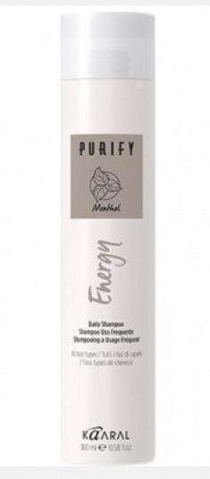Шампунь интенсивный энергетический с ментолом Kaaral Purify-Energy Shampoo 250мл