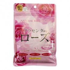 Маска для лица с экстрактом розы Japan Gals Pure5 Essential 7 шт