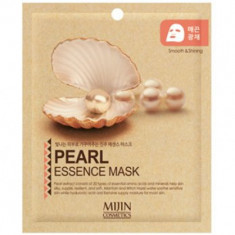 Маска для лица тканевая жемчуг Mijin PEARL ESSENCE MASK 25гр