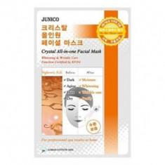 Маска тканевая c гиалуроновой кислотой Mijin Junico Crystal All-in-one Facial Mask Hyaluronic Acid 25г