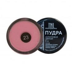Tnl, акриловая пудра, №23, бежево-розовая, 8 г