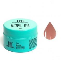 Tnl, acryl gel, акрил гель, натуральный бежевый, 18 мл