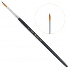 Planet nails, кисть для дизайна круглая, №4, 310.4