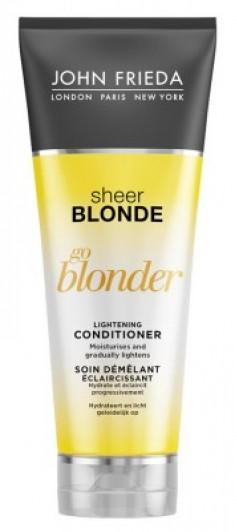 Кондиционер осветляющий для натуральных, мелированных и окрашенных волос John Frieda Sheer Blonde Go Blonder 250 мл
