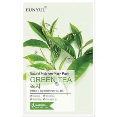 Маска для лица Natural Moisture Mask Pack Green Tea EUNYUL