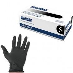 перчатки vinimax виниловые неопудренные размер черные s 100шт. ARCHDALE