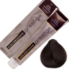 Brelil краситель colorianne prestige c q10 100гр. 5/38 светлый шоколадный шатен