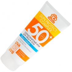Sol bianca солнцезащитное, водостойкое крем для загара лица и тела spf-50 200мл.