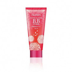 BB-крем DEOPROCE WHITE FLOWER BB CREAM SPF35 PA+++ 21 тон 30гр