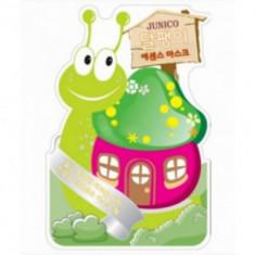 Маска тканевая с экстрактом улитки Junico Snail Essence Mask 25г Mijin