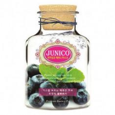 Маска тканевая c экстрактом черники Mijin Junico Blueberry Essence Mask 25г