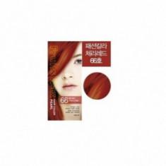 Краска для волос на фруктовой основе Fruits Wax Pearl Hair Color #66 60мл*60гр WELCOS