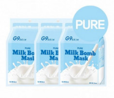 Маска тканевая молочная Berrisom G9 SKIN MILK BOMB MASK-Pure 21мл