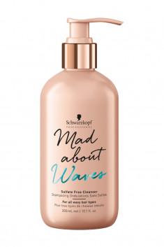 SCHWARZKOPF PROFESSIONAL Крем-шампунь очищающий для волнистых волос / MAD ABOUT WAVES 300 мл