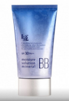 BB-крем минеральный Welcos Lotus Moisture Solution Mineral BB Cream 50мл