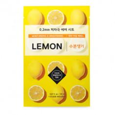 Маска с экстрактом лимона ETUDE HOUSE 0.2 THERAPY AIR MASK LEMON 20мл