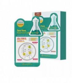 Маска для лица тканевая чайное дерево Mijin Uniquleen Tea Tree Essence Calming Mask 26гр
