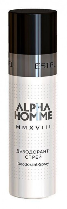 ESTEL PROFESSIONAL Дезодорант-спрей, для мужчин / ALPHA HOMME 100 мл