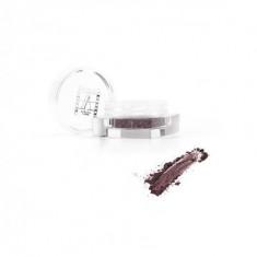 Рассыпчатые перламутровые тени Make-Up Atelier Paris PP18 коричнево-фиолетовый