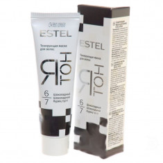 Estel ятон тонирующая маска для волос тон 6/7 шоколадный 60мл