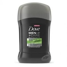 Dove Дезодорант-антиперспирант стик мужской ELEMENTS Свежесть Минералов и Шалфея 50мл