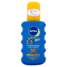 Нивея Сан Кидс Спрей солнцезащитный Ультра защита SPF50+ 200мл NIVEA