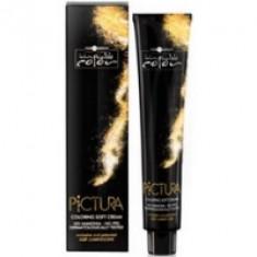Hair Company Professional Inimitable Pictura - Крем-краска, тон 4.22 Каштановый интенсивный ирис, 100 мл