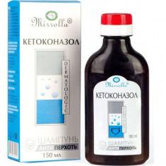 Кетоконазол Шампунь от перхоти с кетоконазолом 150мл MIRROLLA