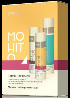 ESTEL PROFESSIONAL Набор для волос № 3 Манго и маракуйя (шампунь, бальзам, гель для душа) / MOHITO
