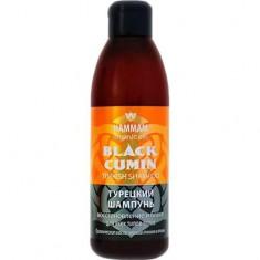 Турецкий шампунь Black Cumin Восстановление и блеск HAMMAM ORGANIC OILS