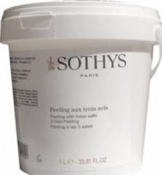 Скраб для тела 3 соли Sothys Peeling With 3 Salts 1000мл