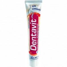 Зубная паста для курящих Dentavit ВИТЭКС